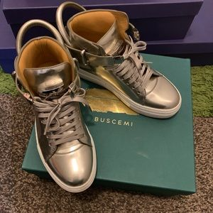 Buscemi platinum 100MM push sneaker